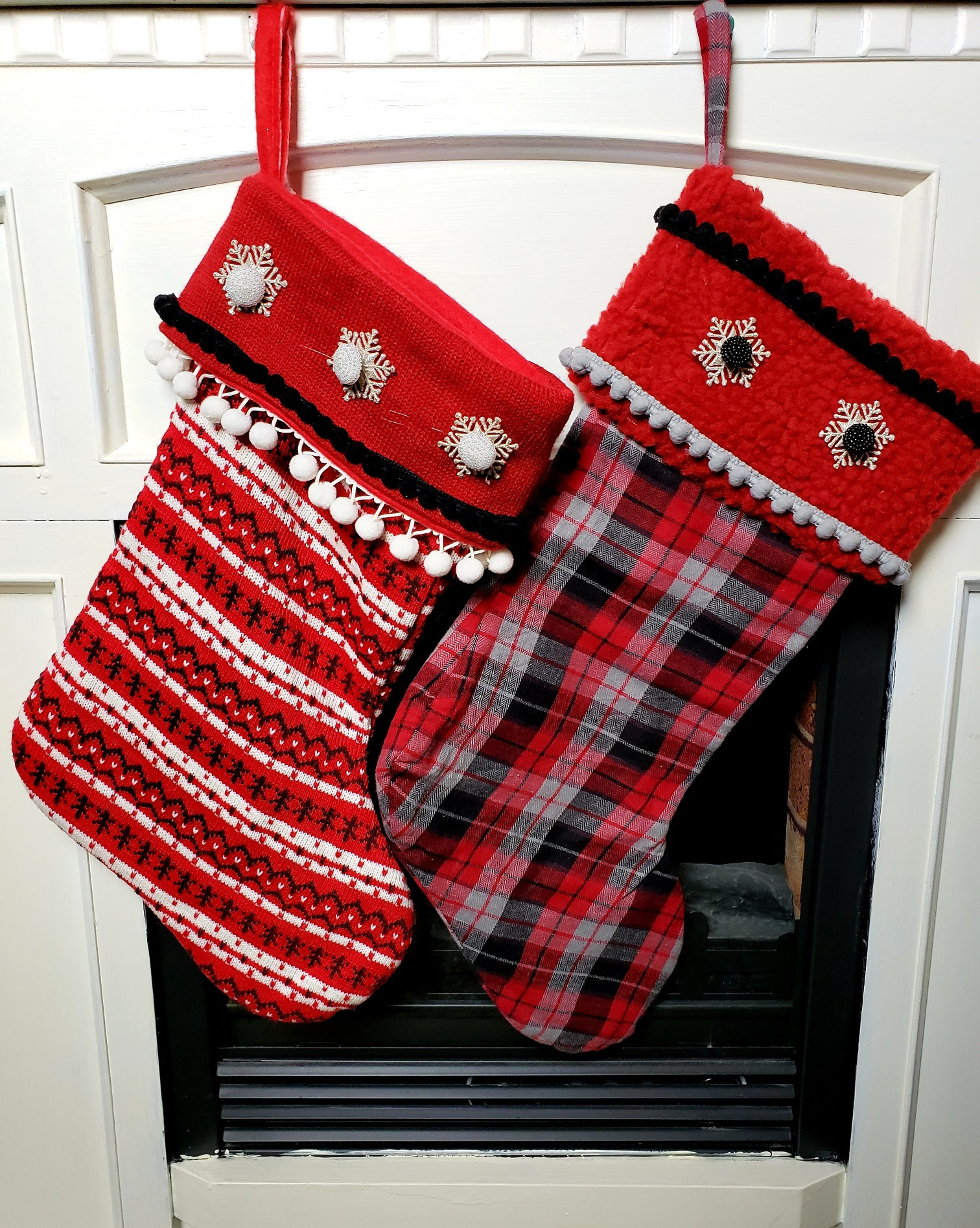 How To Personalize Christmas Stockings For Any Decor Style Trims By The Yard
